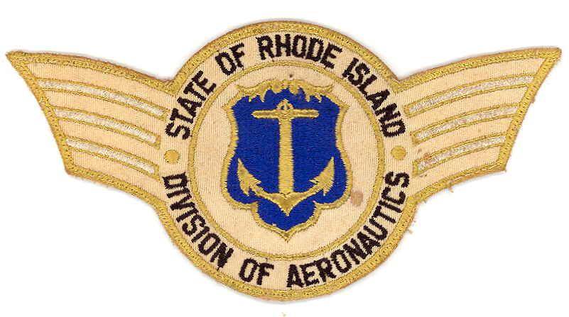 Rhode Island Division of Aeronautics Patch