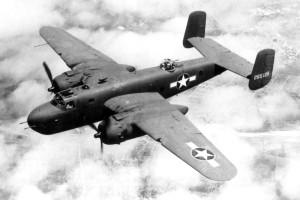 B-25 Mitchel bomber USAF Museum photo