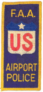 F.A.A. Airport Police patch/insignia circa 1970s.
