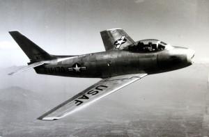 U.S.A.F. F-86 Fighter Jet