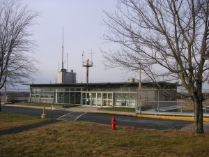 Chester M. Spooner Memorial Building, North Central State Airport, Smithfield, R.I. (Photo taken 2007)