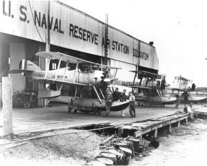 Squantum NAS Seaplanes - 1949