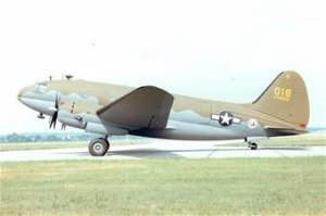 C-46D Commando  U. S. Air Force Photo