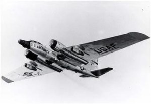 RB-57F.  The U.S. Version of the English Electric Canberra.  U.S. Air Force Photo.