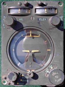 Grumman TBM-3E Auto-Pilot Turn And Bank Control