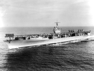 U.S.S. Ranger (CV-4)  U.S. Navy Photo