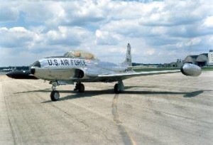 T-33 Trainer Jet U.S. Air Force Photo