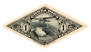 1930s Costa Rica Air Mail Stamp