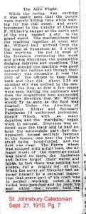 The Aero Flight 1newspaper