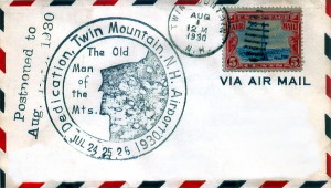 Twin Mountain Airport Dedication - August, 1930