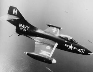 U.S. Navy  Grumman F9F Panther U.S. Navy Photo - National Archives