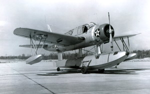 U.S. Navy OS2U-2 Kingfisher U.S. Navy Photo National Archives