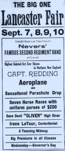 Lancaster Vt. Sept. 1915