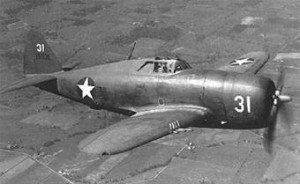 P-47B Thunderbolt U.S. Air Force Photo