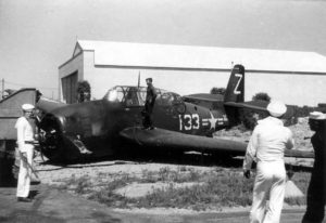 TBM-3E Avenger BU. No. 53100 Charlestown NAS August 21, 1949