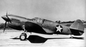 Curtis P-40 Aircraft U. S. Army Air Corps Photo