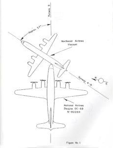 Diagram from Civil Aeronautics Board Aircraft Investigation Report