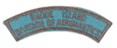 Rhode Island Division of Aeronautics rocker patch
