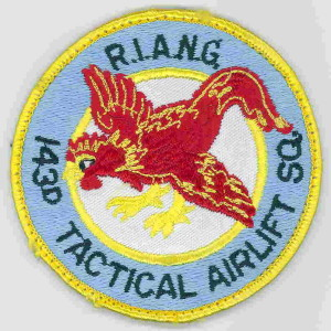 Rhode Island Air National Guard 143d Tactical Airlift patch