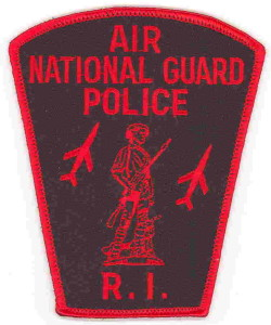 Rhode Island Air National Guard Police Insignia