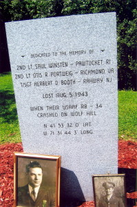 Monument at Deerfield Park, Smithfield, R.I. - August 2009