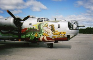 B-24 Liberator - Dragon And His Tail -Taken at North Central Airport, Smithfield , R.I.