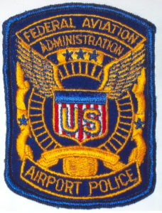 Federal Aviation Administration Police Patch
