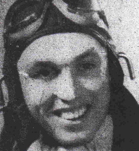 Lieutenant George Dover. Photo from the Shelby Daily Star, April 6, 1942.