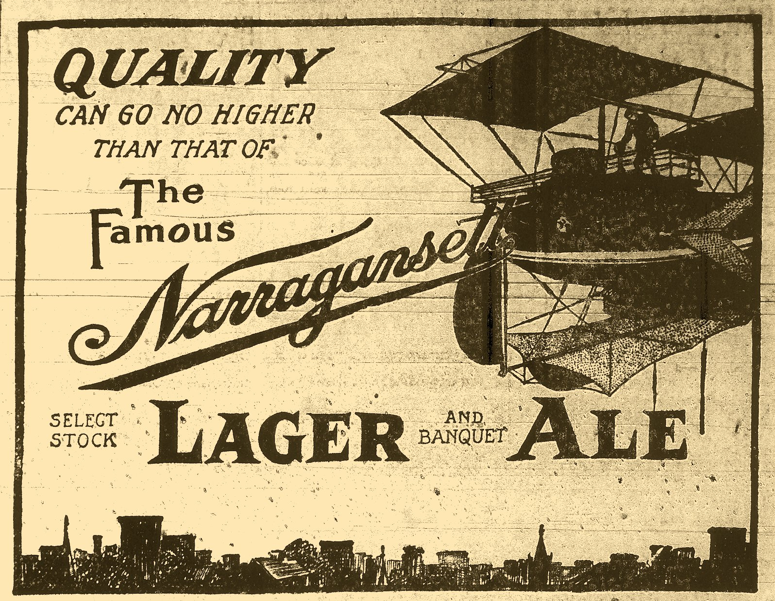 Image result for narragansett beer poster