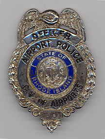 Old R.I. Airport Police Badge