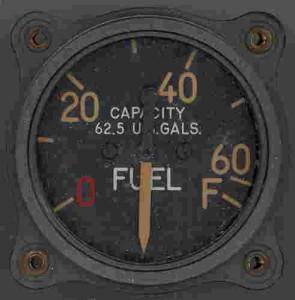 P-40 Warhawk Fuel Gauge