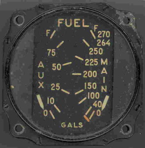 P-47D Thunderbolt Fuel Gauge