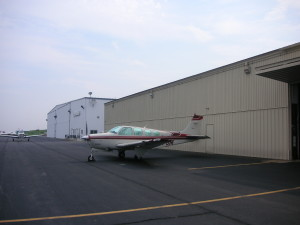 A view of North Central Airport in Smithfield, R.I. - 2007