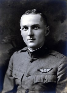 Unidentified World War I era military pilot.