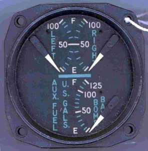 Douglas A-26 Invader Fuel Gauge
