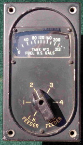 B-17 Flying Fortress Fuel Gauge