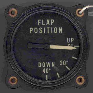 B-24 Liberator Flaps Position Gauge