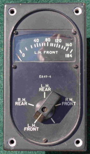 B-25C Mitchell Bomber Fuel Gauge