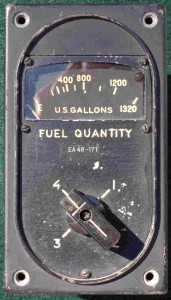 B-29 Superfortress Fuel Gauge
