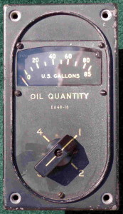 B-29 Superfortress Oil Quantity Guage