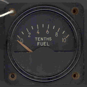 Beech AT-11 Fuel Gauge