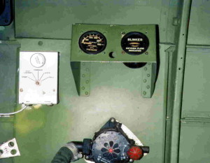 Oxygen Station on an  American WWII Bomber