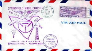 Bowels Airport, Agawam, Mass. - June 6, 1930