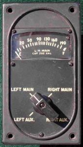 C-47 Skytrain Fuel Gauge