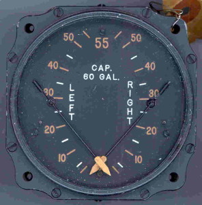 Cesna AT-17 Bobcat Fuel Gauge