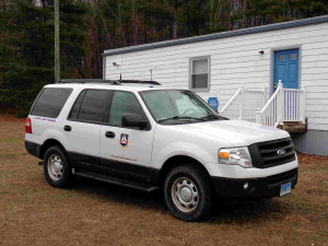 Connecticut Civil Air Patrol Vehicle - Danielson Airport - 2015