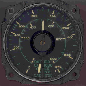 Consolidated B-32 Bomber Fuel Gauge