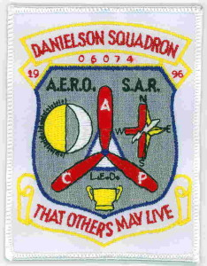 Danielson Squadron Insignia - Connecticut Civil Air Patrol - Danielson, CT.