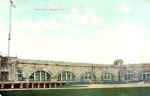 Early Post Card View Of Fort Adams