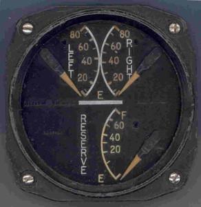 Grumman F6F-3 Hellcat Fuel Gauge